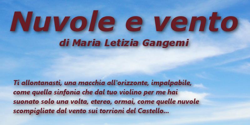 Nuvole e vento – di Maria Letizia Gangemi