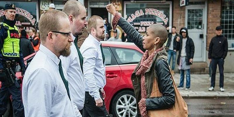 La protesta Tess Asplund