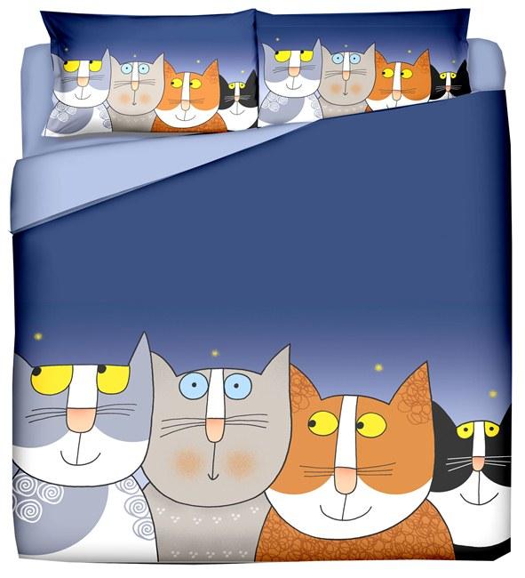 Parure copripiumino 44 Gatti