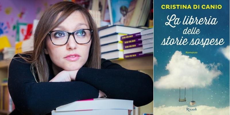 """Da libraia a scrittrice, la storia della """"libreria delle storie sospese"""" di Cristina Di Canio"""