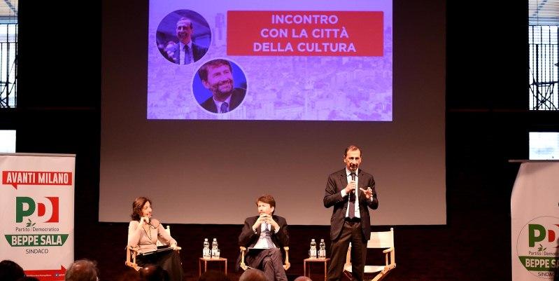 Elezioni sindaco di Milano, l'impegno per la cultura di Giuseppe Sala