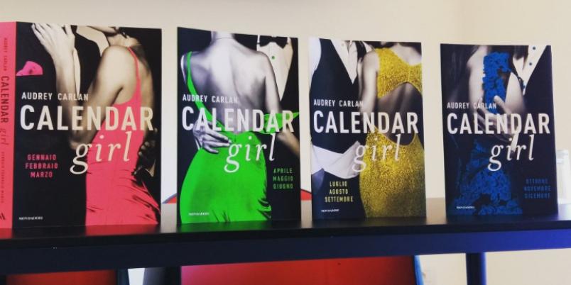 """""""Calendar Girl"""" di Audrey Carlan"""