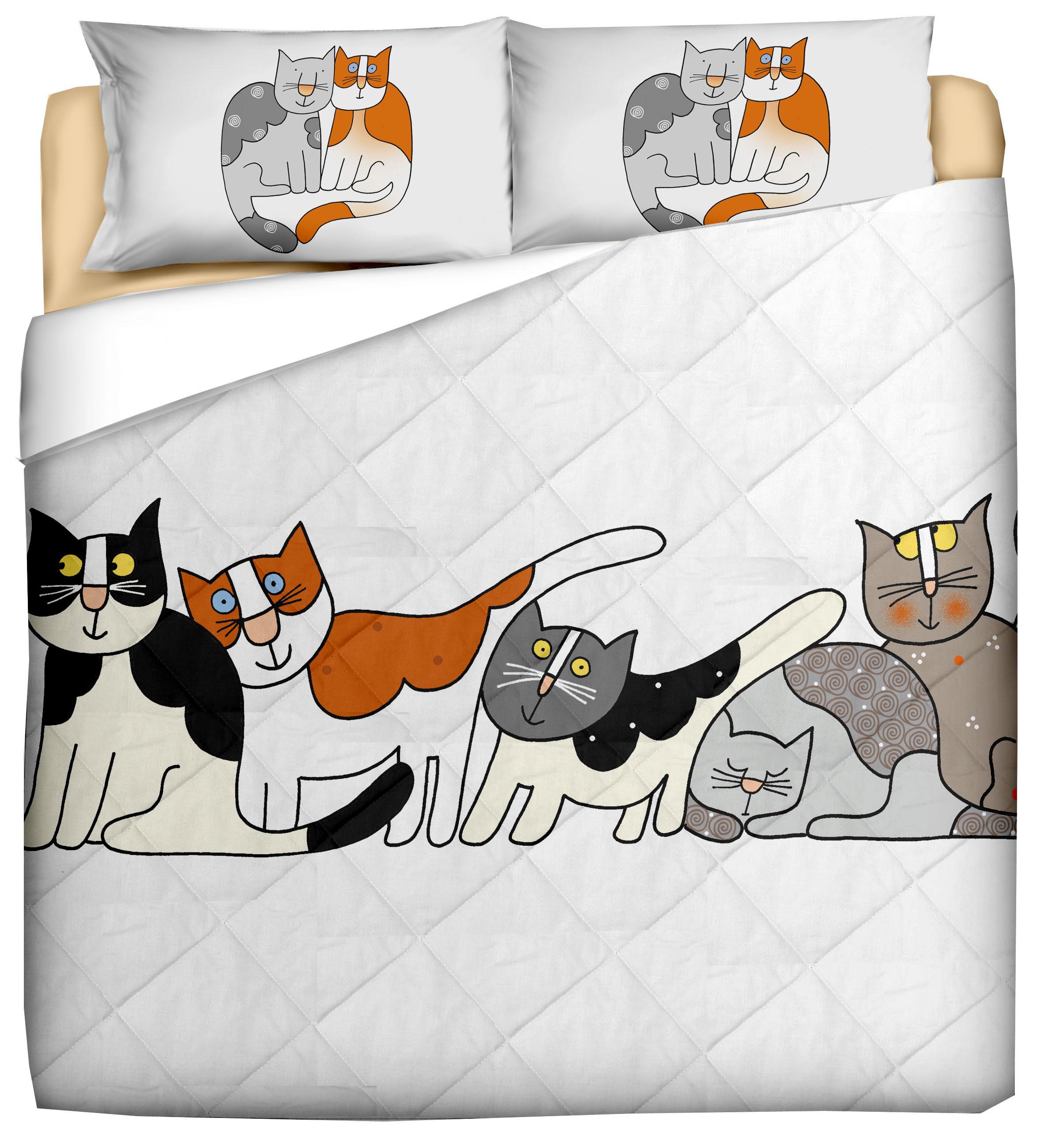 Trapuntino primaverile gatto ugo e amici