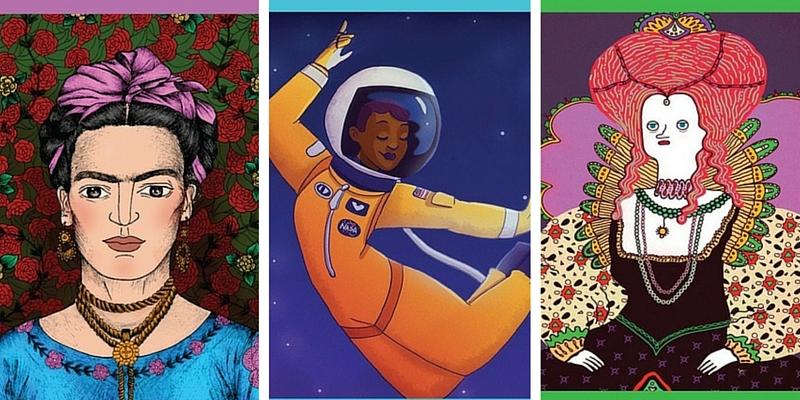 Immagini, tratte da un libro di favole, di Frida Kahlo e Elisabetta I