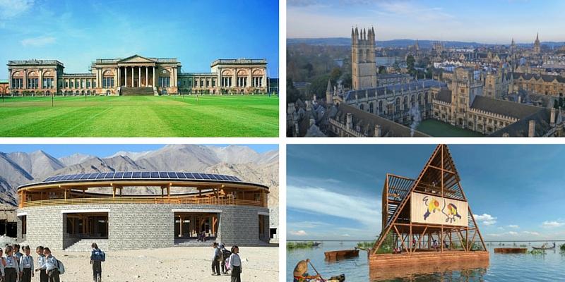 Le 5 scuole più belle del mondo