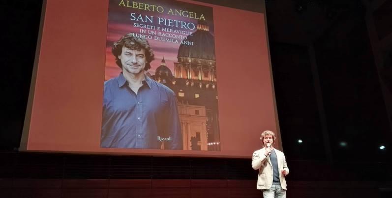 "Alberto Angela, ""L'uomo passa, l'arte rimane"""