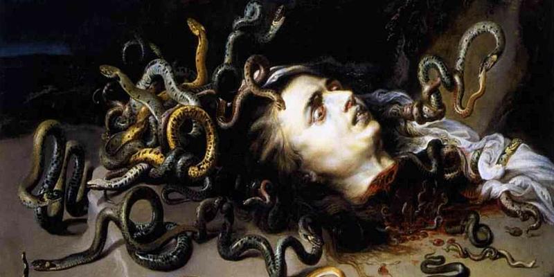Testa di medusa - Rubens