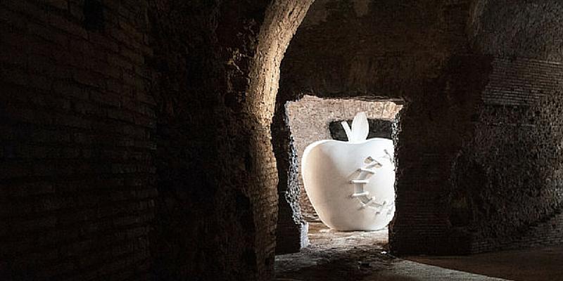 """""""La mela reintegrata"""" di Pistoletto"""