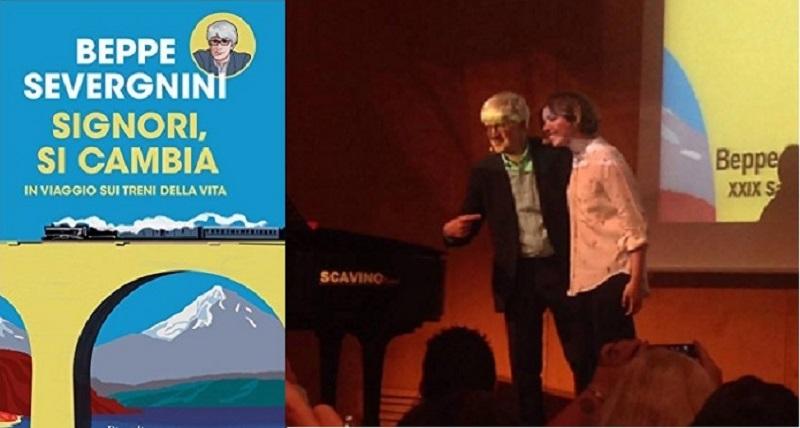 """Beppe Severgnini, """"Il treno è un talk show che non annoia mai"""""""
