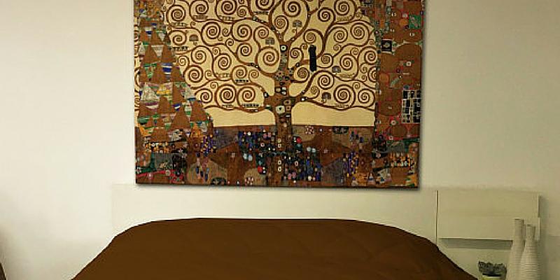 Arredo d autore ecco le tele con i capolavori dell 39 arte for Tele d arredo