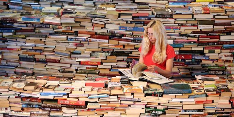 5 consigli per riuscire a leggere 100 libri all'anno