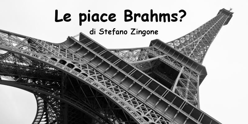 Le piace Brahms? - racconto di Stefano Zingone