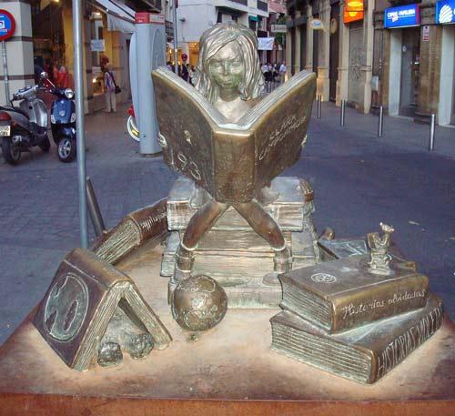 Bambina che legge, Siviglia