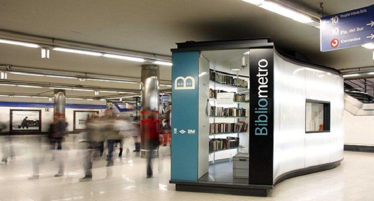 Bibliometro, metropolitana di Madrid
