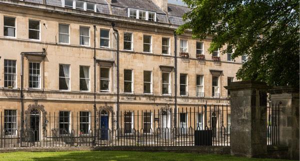La città di Bath di Jane Austen
