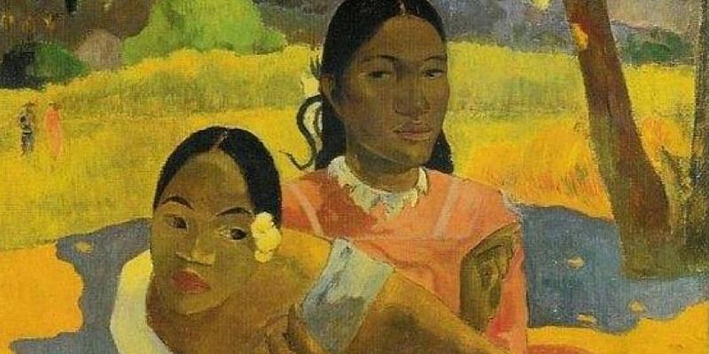 "Nafea Faa ipoipo (When You Will Marry)"", olio di Paul Gauguin"