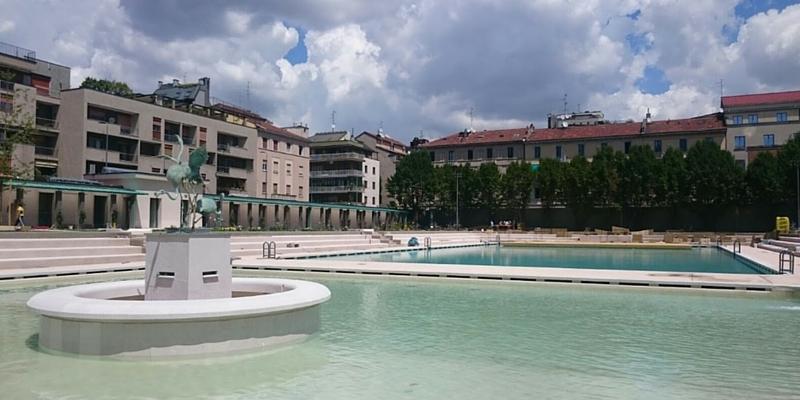 Il franco parenti e i bagni misteriosi la piscina che - Piscina porta romana milano ...