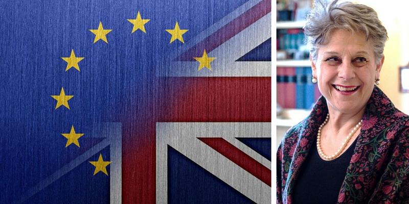 """Brexit, Simonetta Agnello Hornby """"Occorre rispettare la volontà del popolo britannico"""""""