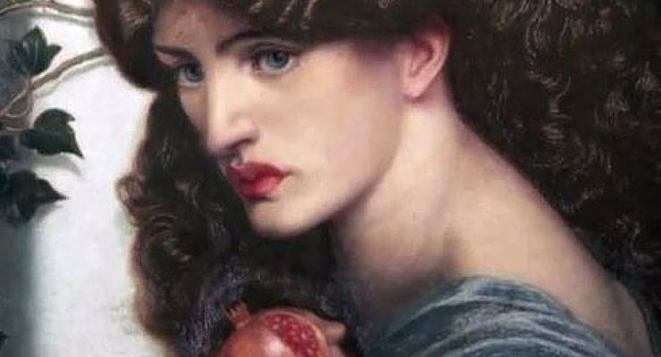 Proserpina, DG. Rossetti