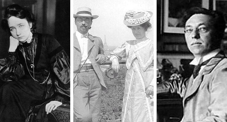 Vasilij Kandinsky e Gabriele Munter