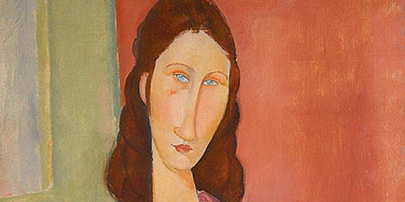 Jeanne Hébuterne (Au Foulard) di Modigliani