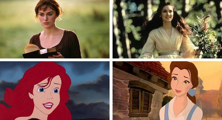 Se le eroine letterarie fossero delle principesse Disney
