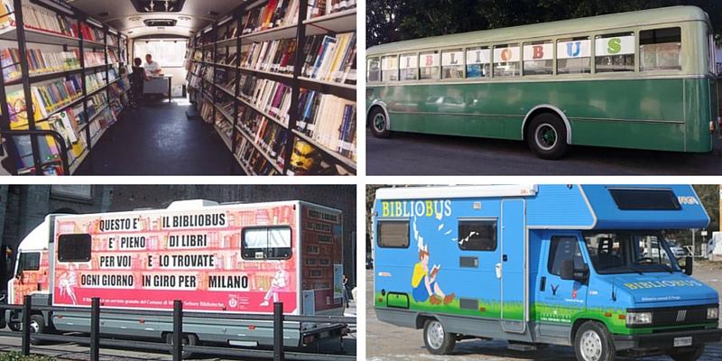 Bibliobus, la biblioteche itinerante che promuovono la lettura