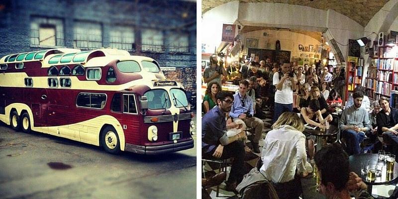 Letti di notte, bus letterario, Roma