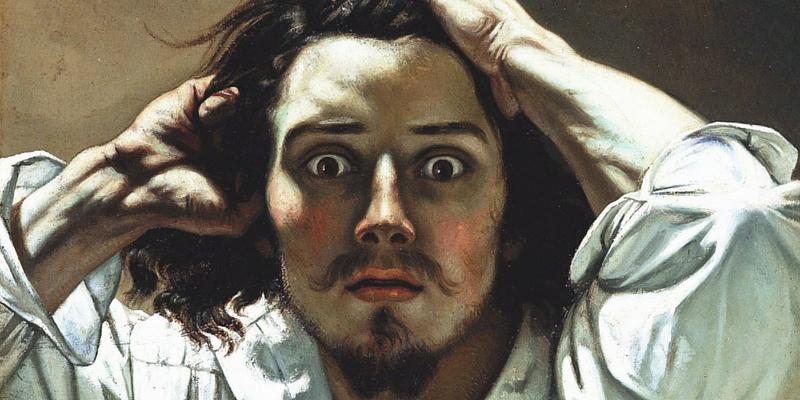 Gustave Courbet, Il disperato