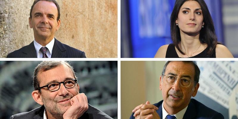 Libri preferiti candidati sindaco Milano e Roma