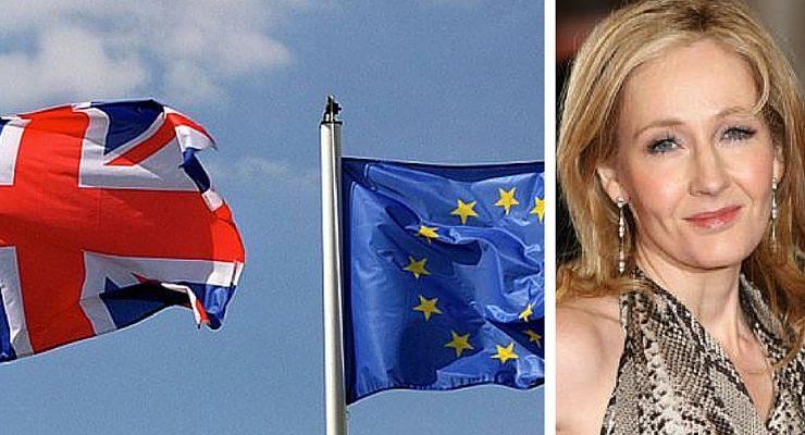 L'opinione di J.K. Rowling sulla Brexit