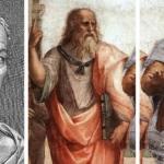 Luciano, Aristotele e Platone