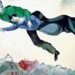 """Marc Chagall, """"Sopra la città"""" (1918)"""