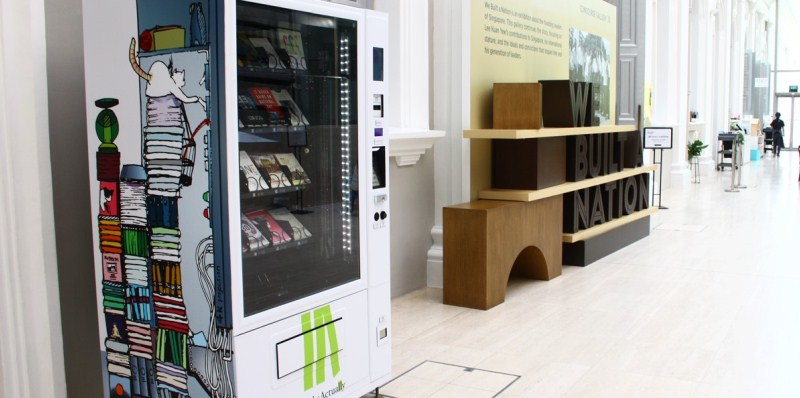 Singapore, distributore automatico di libri