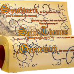 Le panchine letterarie di Londra | I RACCONTI DI CANTERBURY, Geoffry Chaucer