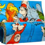 Le panchine letterarie di Londra | DR. SEUSS, Theodor Seuss Geisel