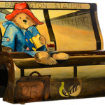 Le panchine letterarie di Londra | PLEASE LOOK AFTER THIS BEAR, THAKK YOU, Michael Bond