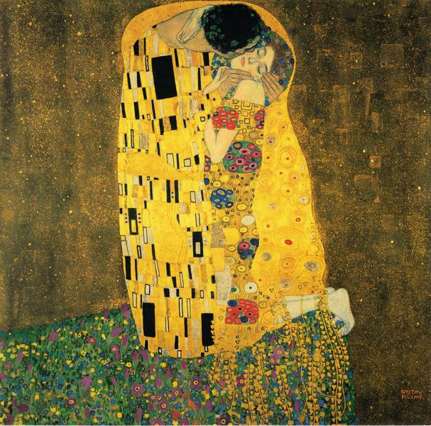 """""""Il Bacio"""" di Gustave Klimt"""