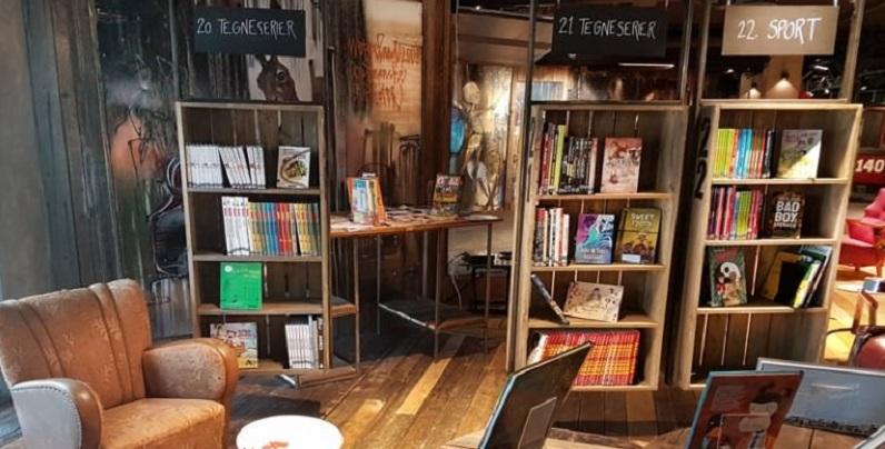 Biblo Toyen, libreria Oslo