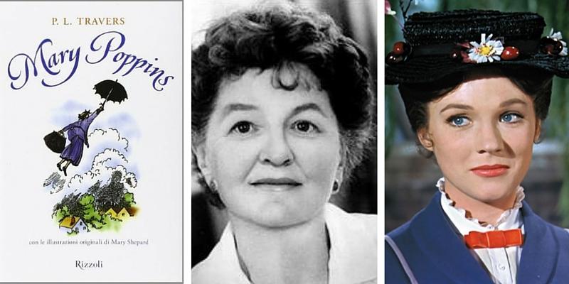 Mary Poppins, la magia dell'infanzia da Pamela Travers a Walt Disney