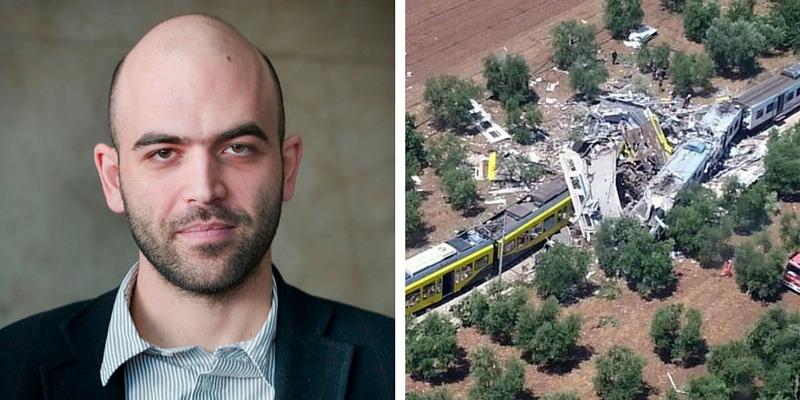 Roberto Saviano sulla tragedia in Puglia
