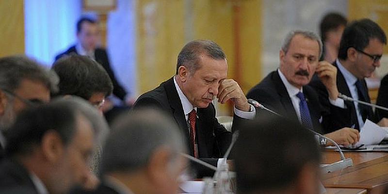 In foto Erdogan