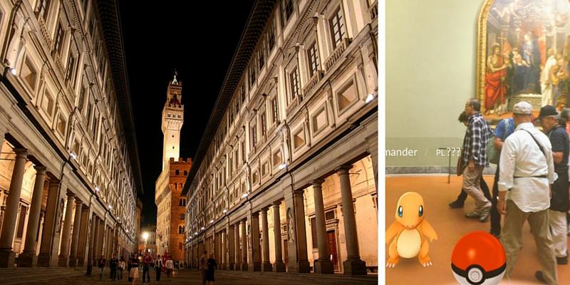 """I Pokemon invadono gli Uffizi. """"L'allarme"""" lanciato dagli addetti al museo"""