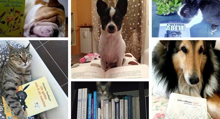 Books & Pets. Cani, gatti e gli altri animali protagonisti della campagna social