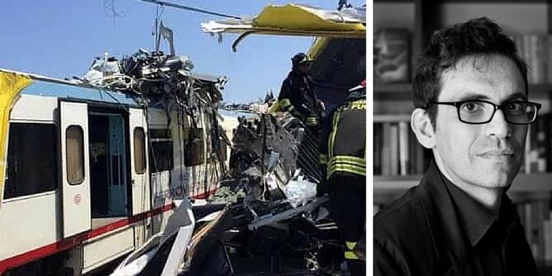 L'incidente dei treni in Puglia ed il divario Nord e Sud, il commento di Nicola Lagioia