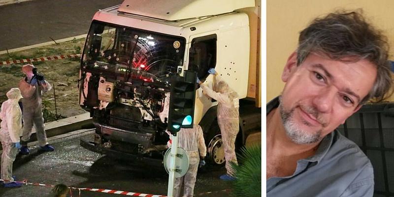 """""""Rispondere alla paura con la vita"""". L'invito dello scrittore Tito Faraci dopo l'attentato di Nizza"""