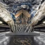La metropolitana di Stoccolma | Stazione metropolitana dell'artista Tekniska högskolan (Foto di Alexander Dragunov)