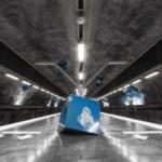 La metropolitana di Stoccolma | Stazione metropolitana di Vreten -