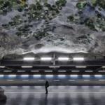 La metropolitana di Stoccolma | Stazione metropolitana di Näckrosen dell'artista Lizzie Olsson-Arle (Foto di Alexander Dragunov)