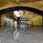 La metropolitana di Stoccolma | Stazione metropolitana di Akalla dell'artista Birgit Ståhl-Nyberg (Foto di Alexander Dragunov)